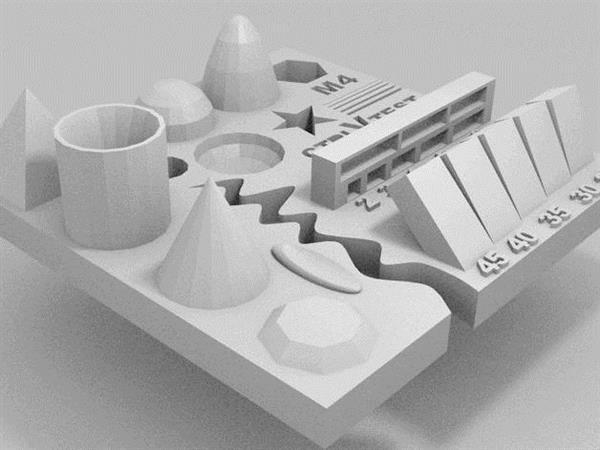 Przetestuj ograniczenia swojej drukarki 3D za pomocą modelu testowego