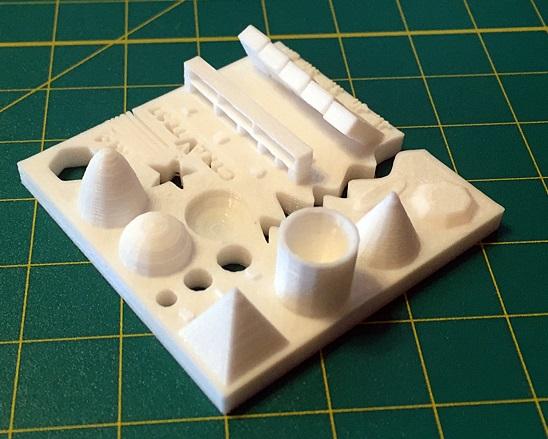 Przetestuj ograniczenia swojej drukarki 3D za pomocą modelu testowego-4