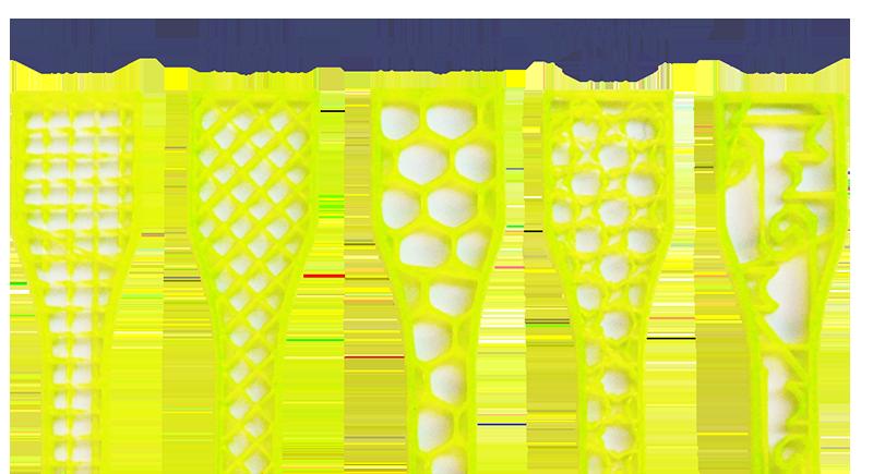 Wpływ wypełnienia i wysokości warstwy na jakość drukowanego modelu-5
