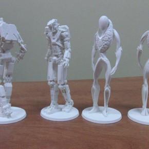 Kolekcjonerskie drukowane 3D figurki Transformers - aukcja charytatywna
