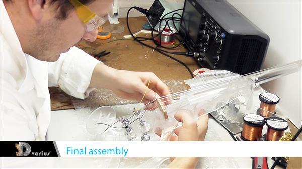 Wydrukowane 3D elektryczne skrzypce o fantastycznym brzmieniu6