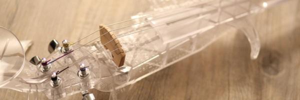 Wydrukowane 3D elektryczne skrzypce o fantastycznym brzmieniu7
