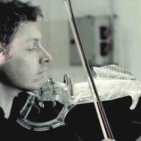 Wydrukowane 3D elektryczne skrzypce o fantastycznym brzmieniu