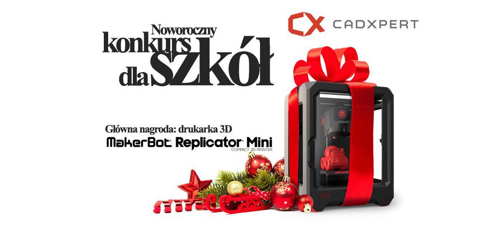 Wygraj drukarkę 3D ! – konkurs noworoczny CadXpert