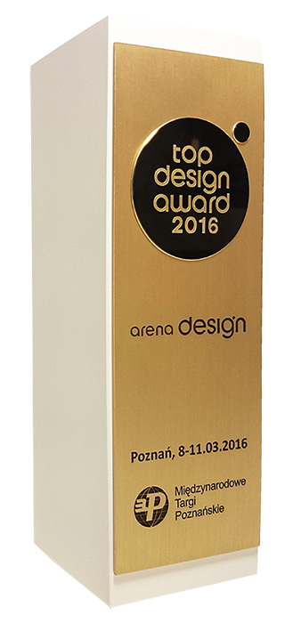 3DKreator laureatem TOP DESIGN Award w kategorii przemysł-4