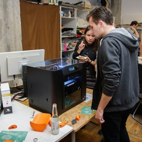 Drukarka 3DKreator Motion podczas pracy
