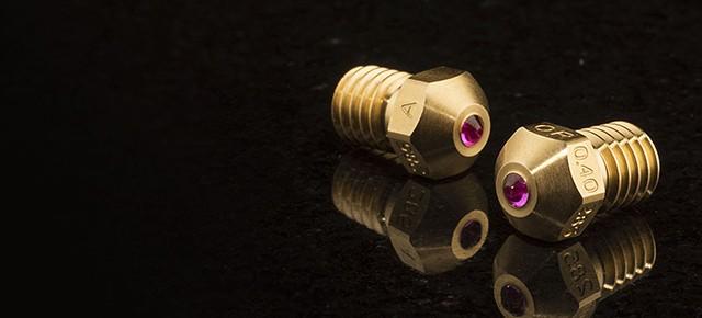 Przełomowa rubinowa dysza Olsson Ruby do drukarek 3D
