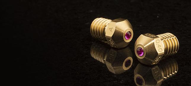 Przełomowa rubinowa dysza Olsson Ruby do drukarek 3D_slider