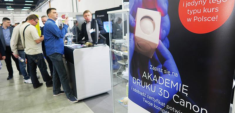 Canon prezentuje drukarkę 3D dla profesjonalistów slijder