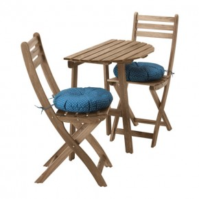 Wydrukowany 3D zaczep do krzeseł balkonowych IKEA