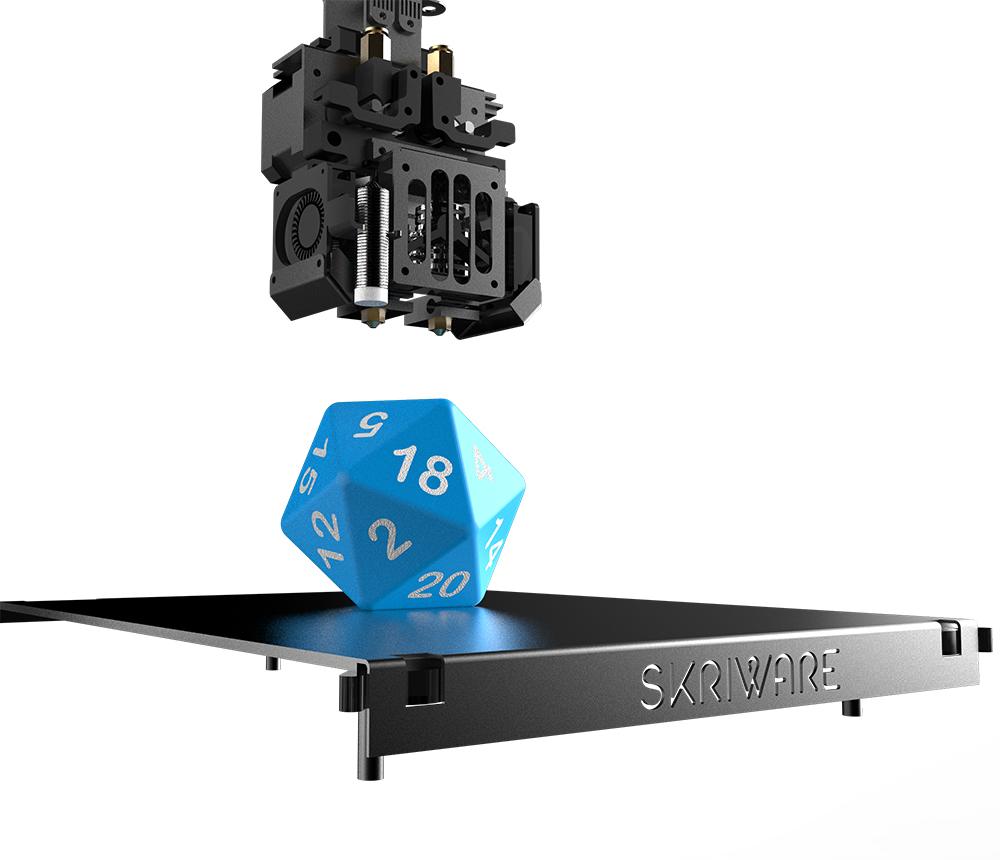 Skriware prezentuje nową, intuicyjną drukarkę 3D