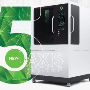 5-osiowa drukarka 3D VSHAPER na targach Formnext 2017