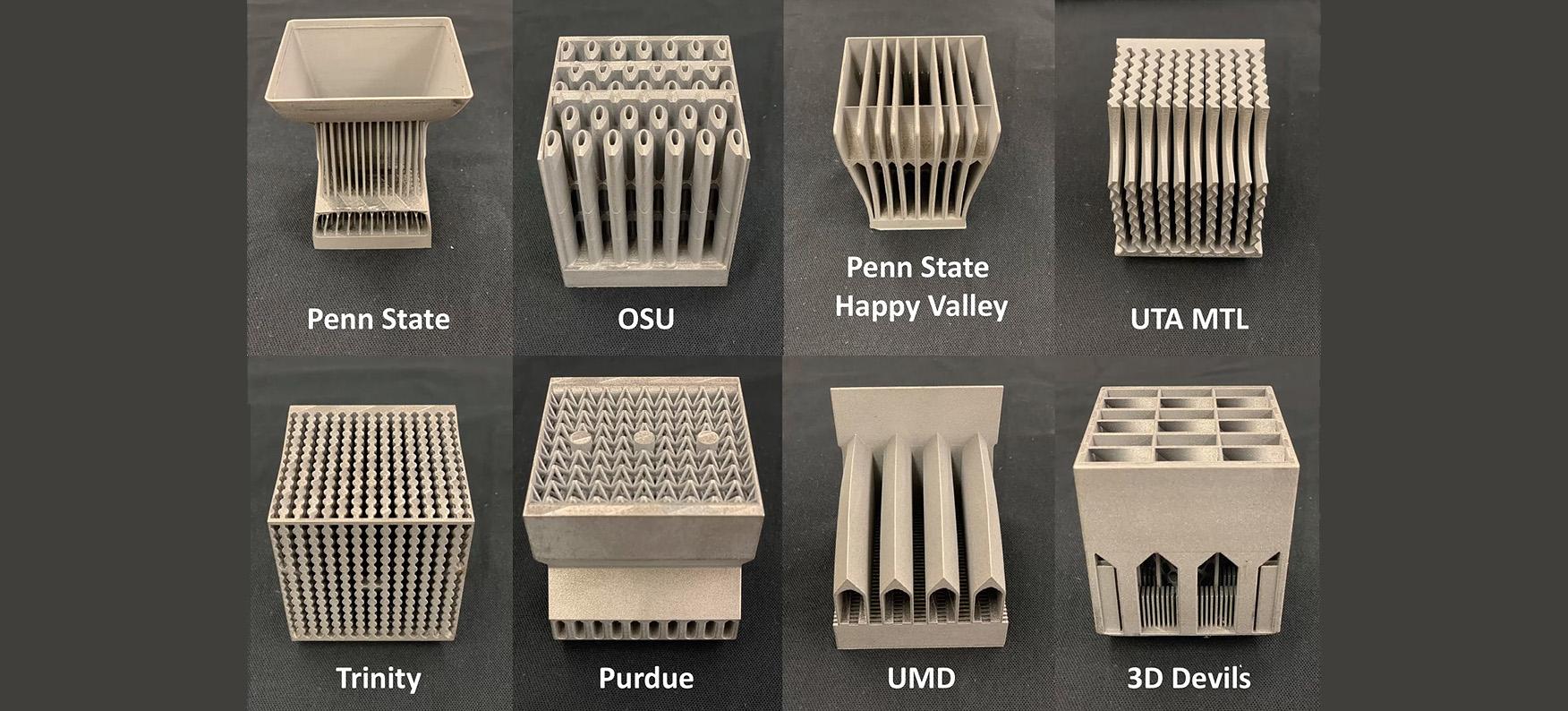 Projekt idealnego radiatora drukowanego 3D