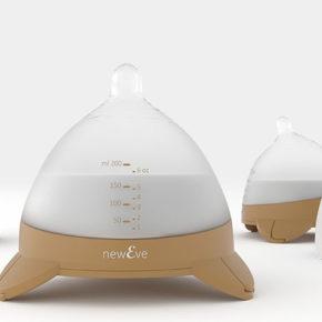 Skaner 3D wykorzystany do stworzenia butelki dla niemowląt