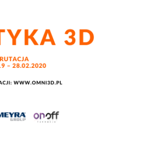 """Projekt """"Ortotyka 3D"""" - wydruki ortez dla osób niepełnosprawnych"""