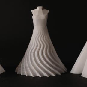 Tkanina z drukarki 3D - praktyczne wykorzystanie wady wydruku
