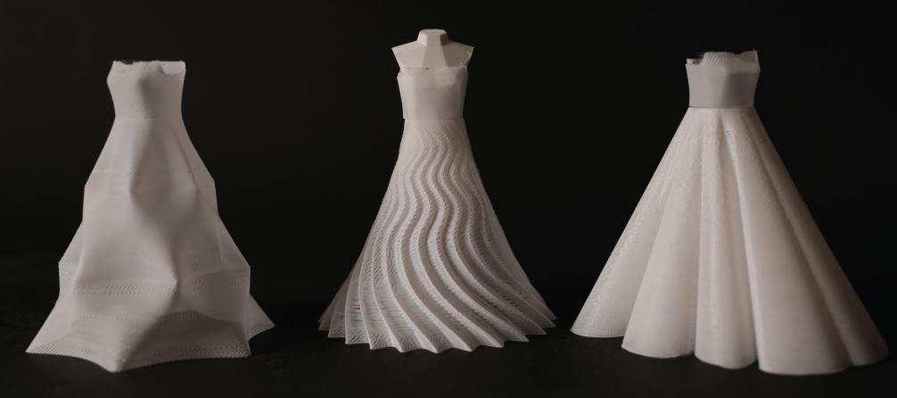 Tkanina z drukarki 3D – praktyczne wykorzystanie wady wydruku