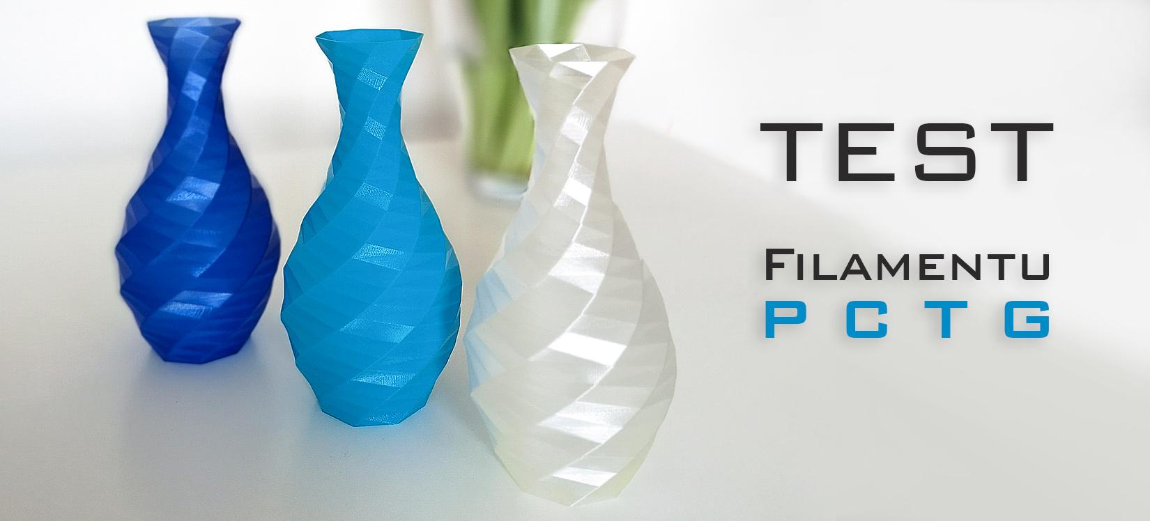 Test filamentu PCTG od Fiberlogy – część 1